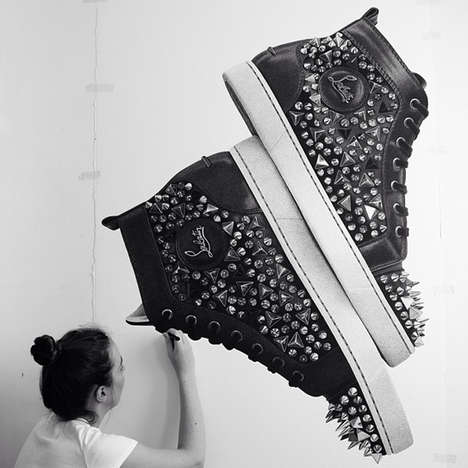 Lifelike Luxury Item Drawings - Artist Cj Hendry Captures Her Obsession with Fashion Objects