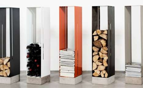 Crisp Contemporary Cubbies - The Manhattan Cabinet Brings Skyscraper Silhouettes to Interior Spaces