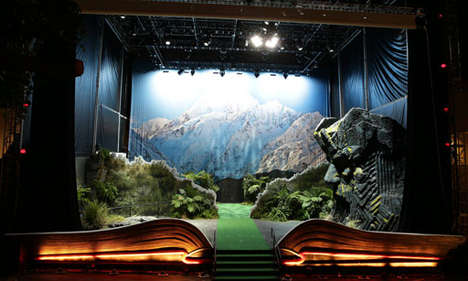 Life-Sized Pop-Up Books - The Tourism of New Zealand Has Created a Giant Pop-Up Book
