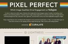 Flawless Insta-Photo Graphics - Curalate's Infographic Shows How to Get the Perfect Instagram Photo