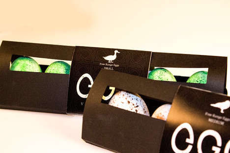 Vogeleieren Eggs packaging