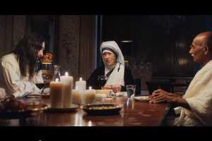 UNICEF's Good Guys Ad Has Mother Theresa, Gandhi & Jesus Dine Together
