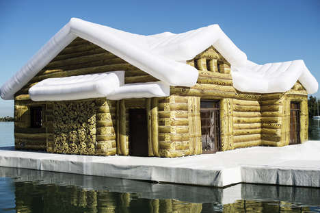 Charming Inflatable Cabins - This Inflatable Cabin Called