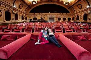 This Unique Cinema Seating Design in London Features Double Beds