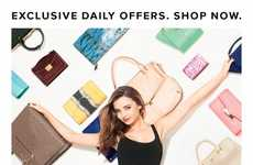 Wall-Mounted Purse Ads