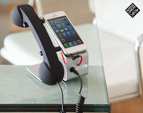 Classic Mobile Desk Phones - This Mobile Handset Looks Like a Traditional Desk Phone