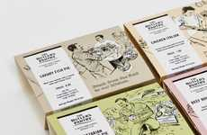 Throwback Illustrated Branding - Butler's Pantry Packaging Conjures Nostalgia Around the Family Meal