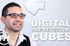 Digital Hue-Detecting Cubes