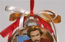 These Ron Burgundy Products are Festively Obsure
