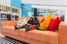 Gigantic Furniture Installations - IKEA's Big Furniture Setup Lets Adults Play Like Little Kids