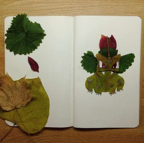 Nature-Made Monster Depictions - The Jacob Carter Natural Pokemon Series is Truly Incredible