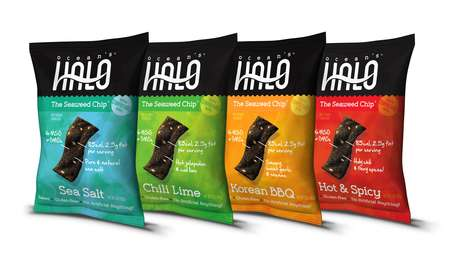 Naturally Harvested Ocean Chips - These Seaweed Chips Swim Against the Tide of Traditional Snacks