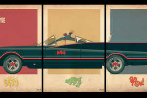 These Car Triptych Posters are Stylish and Nerd-Chic