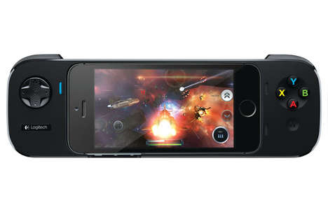 Gamer Battery Extenders - The Logitech PowerShell Enhances Your iPhone's Games and Battery Life