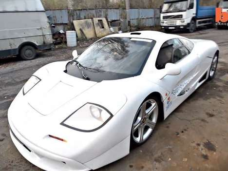 Carbon Copy Supercar Clones - The McLaren F1 Replica is a Subtle Tribute to the Iconic British Ride