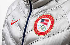 Sporty Metallic Olympic Suits
