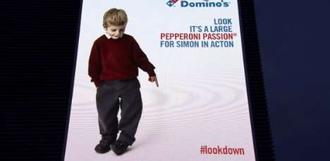 Interactive Billboard Spoofs - The Domino