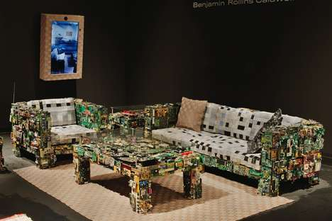 Upcycled Electronic Furniture - The Binary Collection by Benjamin Rollins Caldwel is Techy