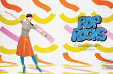 Pop Art-Inspired Editorials - The Foam Magazine January- Photoshoot Stars Chloe B