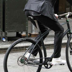Bike-Friendly Officewear - The Commuter Suit by Parker Dusseau Focuses on Movement
