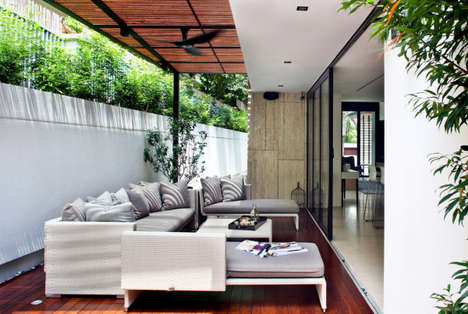 Lush Open-Air Homes - The One Tree Hill House in Singapore Blends Indoor & Outdoor Spaces