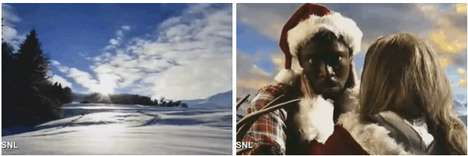 Reindeer-Infused Rap Parodies - SNL Wishes You Happy Holidays with a Bound 2 Parody