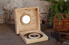 Wood-Crafted Jewelry Cases