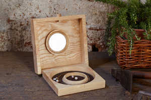 Tronks and Co's Wooden Jewelry Box Designs Neatly Organize Jewelry