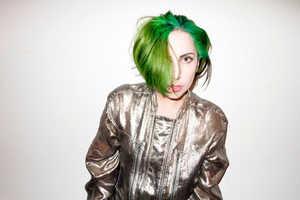 This Lady Gaga x Terry Richardson Shoot Has a Green-Haired Gaga