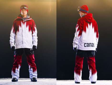 """winter olympic uniform"""