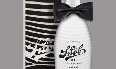 SNOB Cava Wine packaging