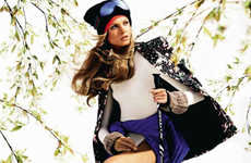 Couture Snow Bunny Editorials