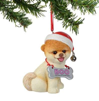 Internet-Famous Dog Ornaments - This Christmas Dog Ornament is Shaped Like Boo the Pomeranian