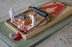 Morbid Mousetrap Crafts