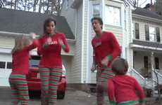 Pajama'd Family Holiday Videos - 'Christmas Jammies' is a Fun Family's Take on a Christmas Card