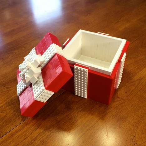 Realistic Building Block Giftware - The LEGO Gift Box is a Gift In and Of Itself