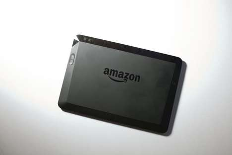 Pixel-Packed Tablets - Kindle Fire HDX Tablet is Amazon