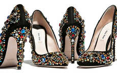 Sequined Statement Shoes (UPDATE)