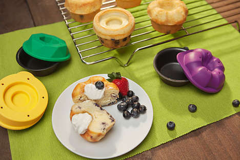 Filling-Focused Baking Molds - Bakeshapes Muffin Molds Let You Make Custom Muffin Tops