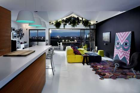 Modern Art-Curating Apartments - Alexander Lotersztain Created a Unique Home Atmosphere