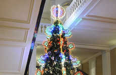 Hand-Crafted Designer Trees - Claridge's Luxe Christmas Tree Was Decorated by Dolce & Gabbana