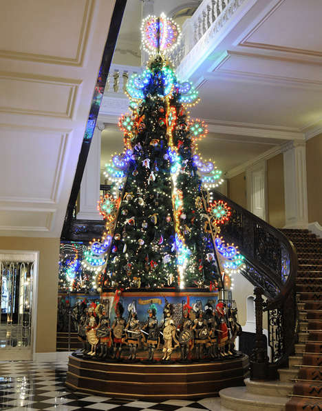 luxe christmas tree