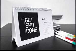This Motivational Calendar will Put an End to Your Procrastination
