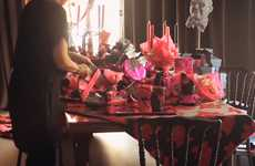 Couture Christmas Tables - Lanvin Dresses a Lavish Christmas Table for ELLE International