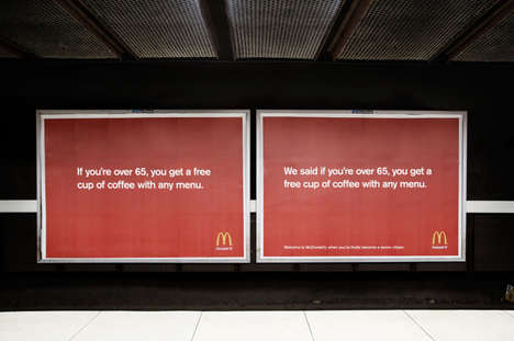 Humorously Repeated Ads - McDonald