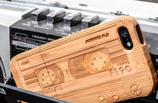 Retro Cassette Phone Cases  - This Wood iPhone Case is Naturally Nostalgic