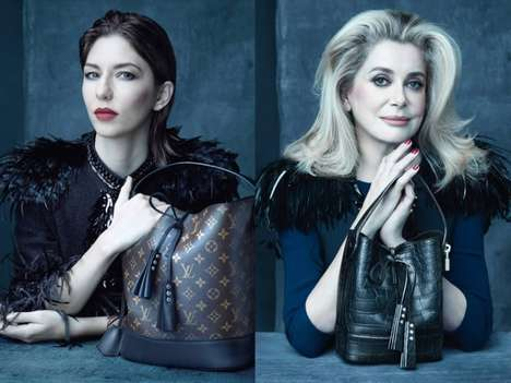 Star-Studded Arcane Ads - Marc Jacobs Says His Goodbyes with The Louis Vuitton SS 2014 Ad