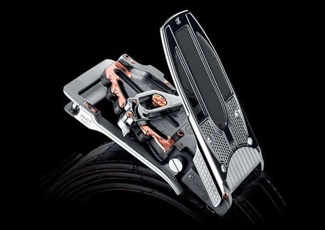 Luxury Automobile-Inspired Belts - The Bugatti Belt is Bound to Have Your Engine Roaring