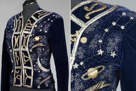 $180,000 Vintage Jackets - The Elsa Schiaparelli Zodiac Jacket Will Empty Your Bank Accounts