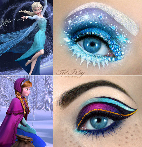 Frosty Princess-Inspired Makeovers